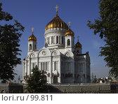 Купить «Храм Христа Спасителя», эксклюзивное фото № 99811, снято 15 июня 2006 г. (c) Виктор Тараканов / Фотобанк Лори