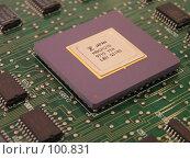 Купить «Процессор», фото № 100831, снято 9 июля 2004 г. (c) Калёнов Павел / Фотобанк Лори