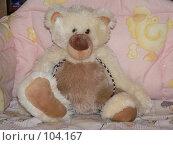 Купить «Мягкая игрушка - медведь», фото № 104167, снято 23 января 2019 г. (c) Огульчанский Александер / Фотобанк Лори