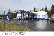 Купить «Сибирь,автозаправочный комплекс», фото № 106823, снято 18 мая 2007 г. (c) Круглов Олег / Фотобанк Лори