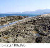 Купить «Море и камни», фото № 106895, снято 27 сентября 2007 г. (c) Корчагина Полина / Фотобанк Лори
