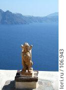 Купить «Сфинкс на Санторини», фото № 106943, снято 28 сентября 2007 г. (c) Корчагина Полина / Фотобанк Лори