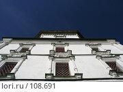 Купить «Церковь на фоне темно-синего неба», фото № 108691, снято 22 сентября 2006 г. (c) Efanov Aleksey / Фотобанк Лори