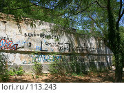 Купить «Стена Цоя в Севастополе», фото № 113243, снято 20 августа 2007 г. (c) АЛЕКСАНДР МИХЕИЧЕВ / Фотобанк Лори