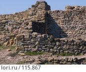 Купить «Каменные стены Танаиса», фото № 115867, снято 22 февраля 2007 г. (c) Борис Панасюк / Фотобанк Лори