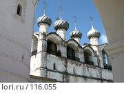 Купить «Архитектурный музей заповедник Кремля города Ростова Великого», фото № 116055, снято 19 июля 2007 г. (c) Parmenov Pavel / Фотобанк Лори