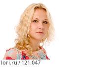 Купить «Блондинка», фото № 121047, снято 26 августа 2007 г. (c) Валентин Мосичев / Фотобанк Лори