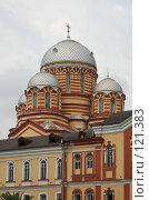 Купить «Монастырь в Новом Афоне», фото № 121383, снято 9 августа 2007 г. (c) Игорь Дашко / Фотобанк Лори