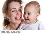 Купить «Мать с ребенком», фото № 123083, снято 15 марта 2006 г. (c) Losevsky Pavel / Фотобанк Лори