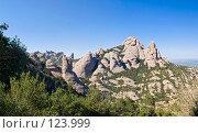 Купить «Испания, гора Монсеррат. Вид на скальный массив», фото № 123999, снято 20 ноября 2018 г. (c) Александр Соболев / Фотобанк Лори