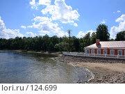 Купить «Петергоф, берег финского залива», эксклюзивное фото № 124699, снято 23 июля 2007 г. (c) Журавлев Андрей / Фотобанк Лори