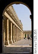 Купить «Париж. Палэ Руаль. Колоннада», эксклюзивное фото № 125351, снято 30 апреля 2007 г. (c) Виктор Тараканов / Фотобанк Лори