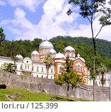 Купить «Новоафонский монастырь. Абхазия», фото № 125399, снято 19 ноября 2019 г. (c) Владимир Сергеев / Фотобанк Лори