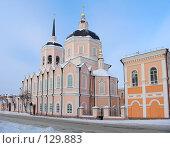 Купить «Христианский храм», фото № 129883, снято 22 декабря 2004 г. (c) Serg Zastavkin / Фотобанк Лори