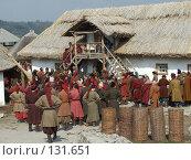 Купить «Запорожские казаки», фото № 131651, снято 27 сентября 2007 г. (c) Dmitriy Andrushchenko / Фотобанк Лори