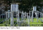 Купить «Метеостанция в Москве», фото № 131743, снято 9 августа 2007 г. (c) Юрий Синицын / Фотобанк Лори