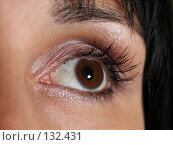 Купить «Женский глаз», фото № 132431, снято 23 июня 2007 г. (c) Морозова Татьяна / Фотобанк Лори
