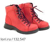 Купить «Зимние ботинки», фото № 132547, снято 22 апреля 2019 г. (c) Угоренков Александр / Фотобанк Лори