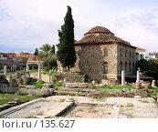Купить «Афины, Греция», фото № 135627, снято 18 ноября 2007 г. (c) Светлана Черненко / Фотобанк Лори