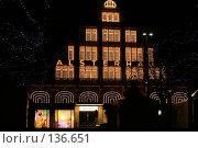 Купить «Гамбург. Новогодние огни.», фото № 136651, снято 2 декабря 2007 г. (c) Екатерина Соловьева / Фотобанк Лори
