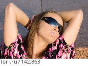 Купить «Молодая сексуальная женщина», фото № 142863, снято 2 октября 2007 г. (c) chaoss / Фотобанк Лори
