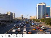 Купить «Пекин. Автомобильное движение на проспекте Chaoyangmen», фото № 143115, снято 8 ноября 2007 г. (c) Александр Солдатенко / Фотобанк Лори