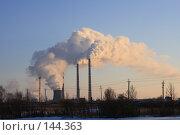 Купить «Теплоэлектроцентраль г.Набережные Челны», фото № 144363, снято 2 декабря 2007 г. (c) Алексей Баринов / Фотобанк Лори