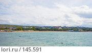 Купить «Геленджикская бухта. Вид на город.», фото № 145591, снято 15 октября 2007 г. (c) Иван Сазыкин / Фотобанк Лори
