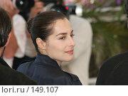 Купить «Знаменитости. Амира Казар», фото № 149107, снято 18 мая 2005 г. (c) Денис Макаренко / Фотобанк Лори