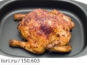 Купить «Жареный цыпленок», фото № 150603, снято 24 сентября 2018 г. (c) Угоренков Александр / Фотобанк Лори