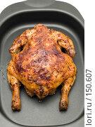 Купить «Жареный цыпленок», фото № 150607, снято 24 сентября 2018 г. (c) Угоренков Александр / Фотобанк Лори