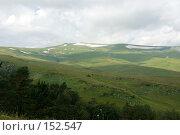 Купить «Альпийские луга. Плато Лаго-Наки. Кавказский заповедник», фото № 152547, снято 10 августа 2007 г. (c) Петухов Геннадий / Фотобанк Лори