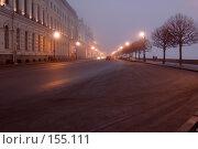 Купить «Санкт-Петербург. Дворцовая набережная. Туманный день», эксклюзивное фото № 155111, снято 16 декабря 2007 г. (c) Александр Алексеев / Фотобанк Лори
