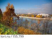 Купить «Вид на Москва реку с Воробьевых гор», фото № 155799, снято 27 октября 2007 г. (c) Петухов Геннадий / Фотобанк Лори