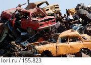 Купить «Свалка старых автомобилей», фото № 155823, снято 18 августа 2007 г. (c) Александр Катайцев / Фотобанк Лори