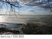 Купить «Озеро Плещеево весной», фото № 159903, снято 1 апреля 2007 г. (c) Юлия Паршина / Фотобанк Лори