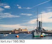 """Крейсер """"Аврора"""", фото № 160963, снято 11 июня 2007 г. (c) Liseykina / Фотобанк Лори"""