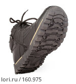 Купить «Мужские черные зимние ботинки», фото № 160975, снято 26 ноября 2006 г. (c) Александр Паррус / Фотобанк Лори