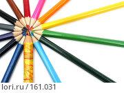 Купить «Набор карандашей на белом фоне», фото № 161031, снято 9 октября 2006 г. (c) Александр Паррус / Фотобанк Лори