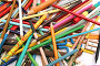 Коллекция карандашей, фото № 161043, снято 9 октября 2006 г. (c) Александр Паррус / Фотобанк Лори