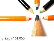 "Купить «Карандаш ""папа"" и ""дети"" карандашики», фото № 161055, снято 30 сентября 2006 г. (c) Александр Паррус / Фотобанк Лори"