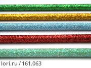 Купить «Набор карандашей с разноцветным блестящим покрытием», фото № 161063, снято 30 сентября 2006 г. (c) Александр Паррус / Фотобанк Лори
