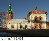 Купить «Муром. Реставрация Вознесенской церкви 1729 года», фото № 163031, снято 23 декабря 2007 г. (c) Яков Филимонов / Фотобанк Лори