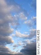 Купить «Вечернее небо», фото № 164435, снято 24 января 2020 г. (c) Роман Сигаев / Фотобанк Лори