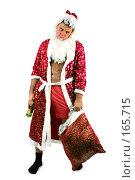 Купить «Дед Мороз - алкоголик», фото № 165715, снято 7 октября 2007 г. (c) Вадим Пономаренко / Фотобанк Лори