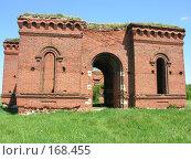 Купить «Недостроенный замок», фото № 168455, снято 26 мая 2007 г. (c) Сергей Самсонов / Фотобанк Лори