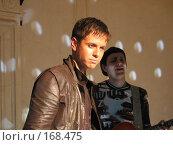 Купить «Певец и композитор Андрей Губин», фото № 168475, снято 21 января 2003 г. (c) Сергей Лаврентьев / Фотобанк Лори