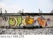Купить «Граффити...», фото № 169215, снято 3 января 2008 г. (c) Игорь Веснинов / Фотобанк Лори