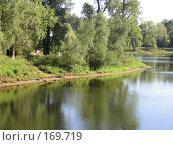 Купить «Вид на реку с берега», фото № 169719, снято 21 августа 2005 г. (c) Светлана Белова / Фотобанк Лори