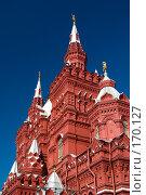 Купить «Здание Исторического музея на Красной площади», фото № 170127, снято 23 июня 2007 г. (c) Петухов Геннадий / Фотобанк Лори